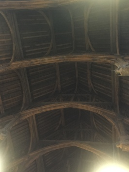 The roof in the Parliament Entry Hall